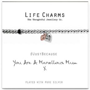 Life Charms Marvellous Mum Silver Plated Bracelet
